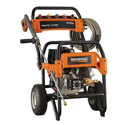 Fantastic Deal! Generac 6565 4,200 PSI 4.0 GPM 420cc OHV Gas Powered Commercial Pressure Washer