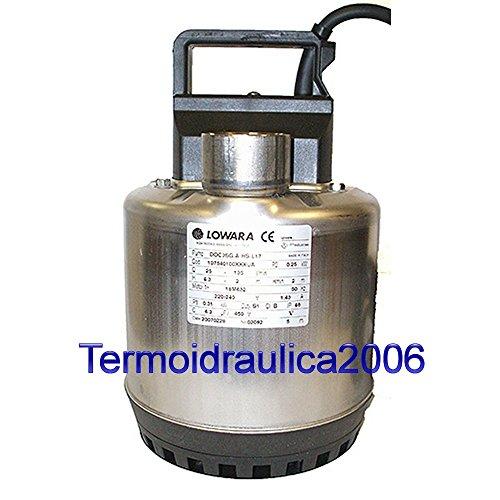/Électropompe submersible Lowara DOC 3