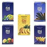 5 Paquete x 50g Sabor SURTIDO Hibron Hierba Para Shisha Cachimba Sin Nicotina Kit 5