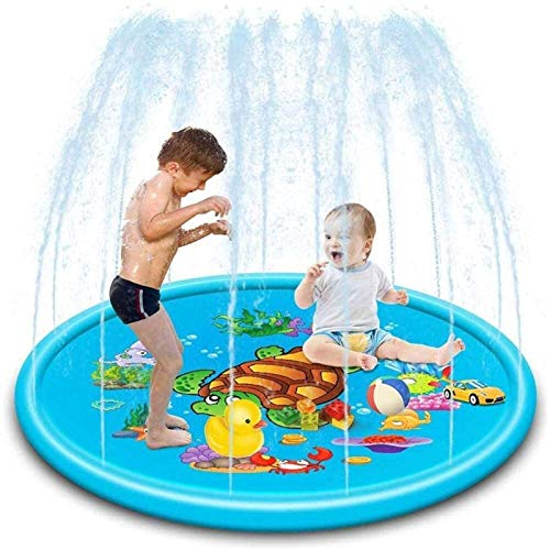 XINGDONG Sprinkler For Kids, Splash Pad, And Wading Pool, 67'' Inflatable Sprinkler Summer Toys, Outdoor Swimming Pool durable