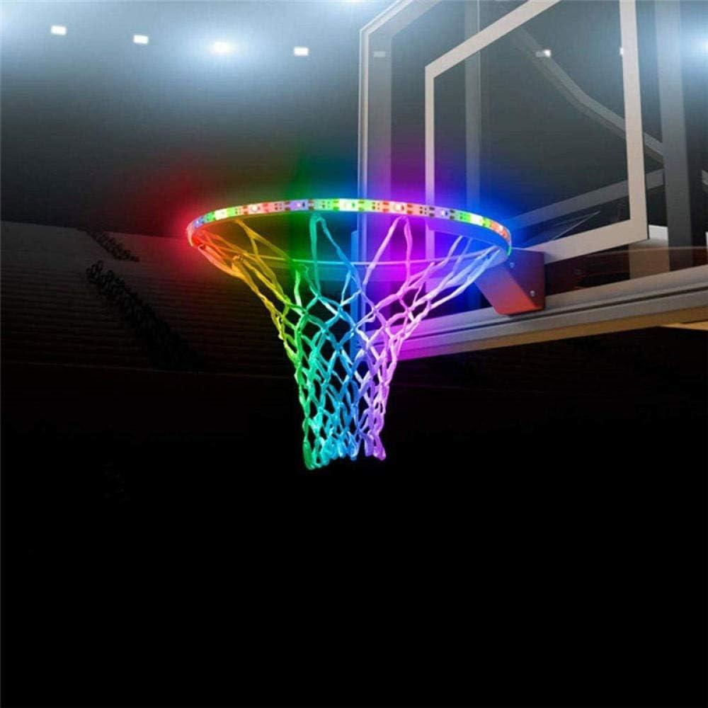 ANGOU Max 81% OFF Regular dealer LED Basket Solar illuminates Light Accessories Basketball