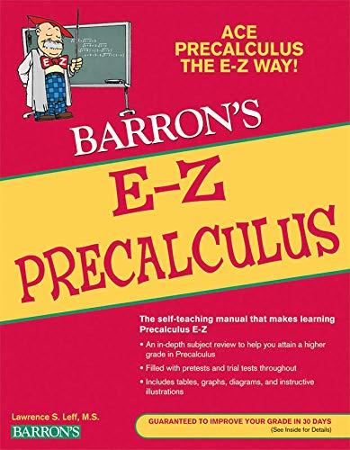 Barron's E-Z Precalculus