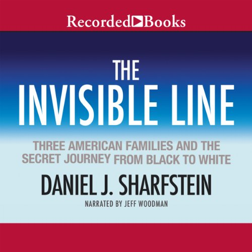 The Invisible Line audiobook cover art