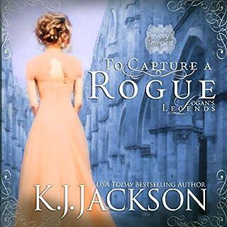 To Capture a Rogue, Logan's Legends audiobook cover art