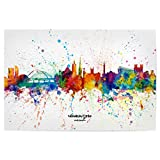 artboxONE Poster 30x20 cm Städte Newcastle England Skyline