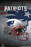 New England Patriots - Helmet 16 Poster Drucken (55,88 x