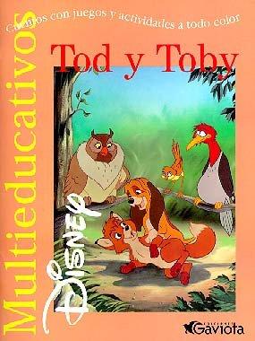 Tod y Toby: Cuentos con juegos y actividades a todo color (Multieducativos Disney)