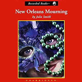 New Orleans Mourning audiobook cover art