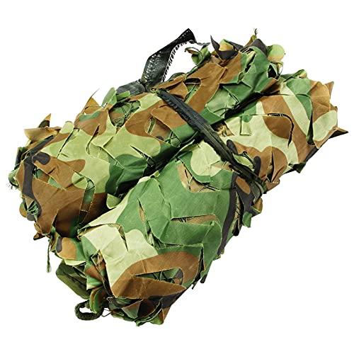 Ejército Camuflaje Redes, Red De Camuflaje, Ejército Caza Militar Red De Camuflaje, Malla De Camuflaje Militar, Lightweight Camping Hunting Shade Cover, Para Decorar, Camufar Y (Size:6x8m/19.6x26.2ft)