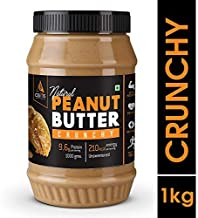 Asitis Nutrition AS-IT-IS Peanut Butter Crunchy (Natural and Unsweetened) 1 Kg