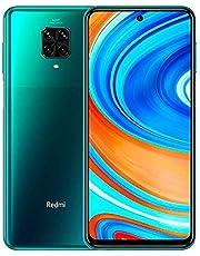 """Xiaomi Redmi Note 9 Pro Smartphone - 6.67"""" DotDisplay 6GB 64GB 64MP AI Quad Camera 5020mAh (typ)* NFC Verde [Versione globale]"""