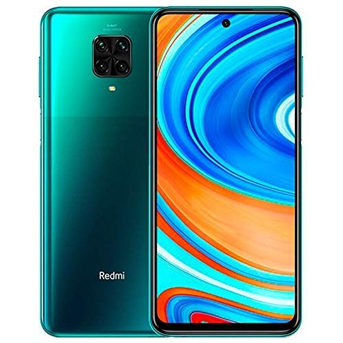 "Xiaomi Redmi Note 9 Pro Smartphone - 6.67 ""DotDisplay 6GB 64GB 64MP AI Quad Camera 5020mAh (typ) * NFC Green [Παγκόσμια έκδοση]"