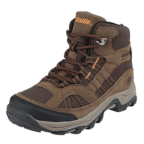 Northside Unisex-Kid's Rampart MID Hiking Boot, Medium Brown, 6 Medium US Big Kid