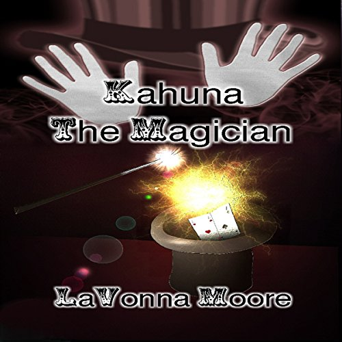 Kahuna the Magician audiobook cover art