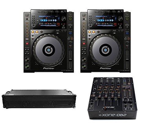 Learn More About 2x Pioneer CDJ-900 Nexus + Xone:DB2 + Coffin