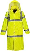 Portwest Hi-Vis Classic Raincoat 48 Viz Safety Visability Work Rain Jacket ANSI 3