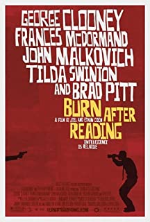 poster burn after reading