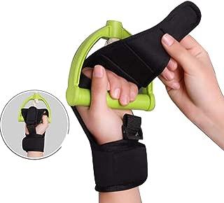 Finger Splint Brace Ability,Risingmed Finger Gloves Brace Finger Anti-Spasticity Rehabilitation Auxiliary Training Gloves for Stroke Hemiplegia Patient and Athlete Finger Rehabilitation - Single Hand