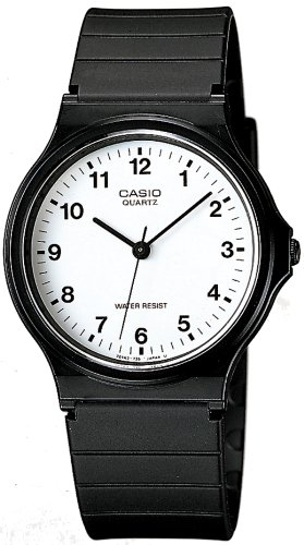 [カシオ] 腕時計 スタンダード MQ-24-7BLLJF ブラック