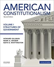 Best american constitutionalism volume i structures of government Reviews