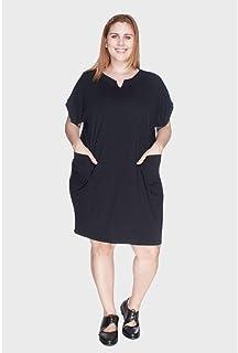 Vestido com Revel Plus Size