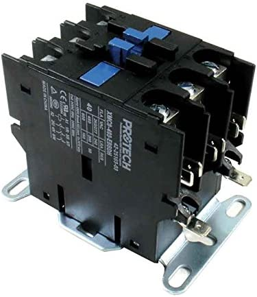 Rheem 42-25103-03 OFFicial mail order - 40A 3-Pole 24V Control Free shipping on posting reviews Contactor