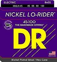 DR ベース弦 LO-RIDER ニッケルメッキ .045-.100 NMLH-45