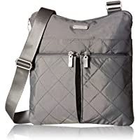 Baggalini Quilted Horizon Crossbody Bag (2 color options)