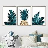 bdrsjdsb Nordic Ananas Pflanze Malerei Dekorative Bild Home