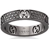 [グッチ] Gucci K18 リング GGアイコン 【並行輸入品】 GUS-225836-J8540-8131-13 日本サイズ12号