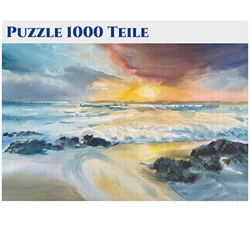 58I Verschiedene Holzpuzzle Spielzeug ab 8 Jahren Jigsaw Puzzles Set Steckpuzzle Pädagogisches Geschenk für Jungen Mädchen (1000 Teile) Puzzle Holz für Puzzle Kinder Mit Pflanzen und Blumen Muster-8