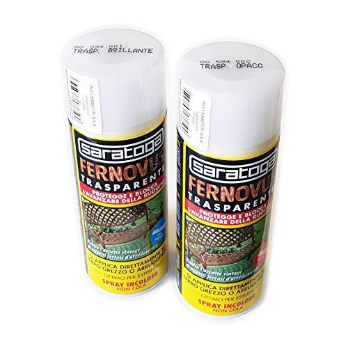 Fernovus Spray Antiruggine 400ml Trasparente Opaco Saratoga