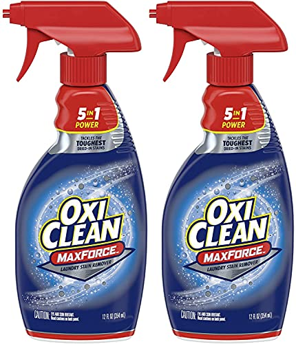 OxiClean Max Force 4 In Power Laundry Stain Remover Spray, 12 oz - 2 PK