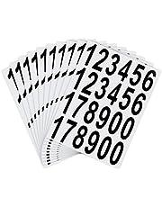 LUTER Nummers Stickers Waterdicht Zelfklevende Stickers voor Brievenbus, Huis, Deur, Adresnummer, Binnen of Buiten
