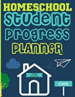 Homeschool Student Progress Planner: A Resource for Students to Plan, Record & Track their Homeschool Subjects and School Year: For One Student