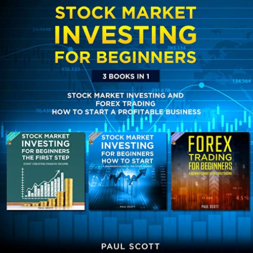 Stock Market Investing for Beginners: 3 Books in 1: cover art