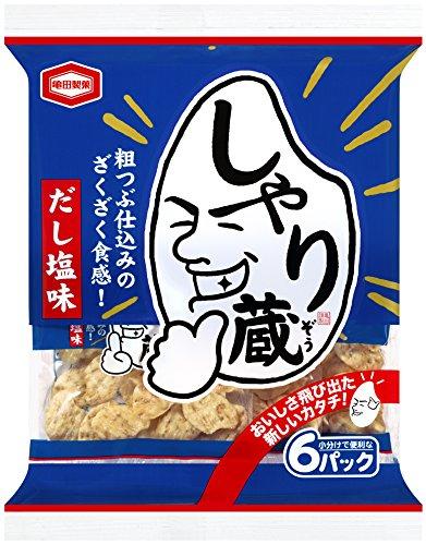 『亀田製菓 しゃり蔵 85g×6袋』のトップ画像