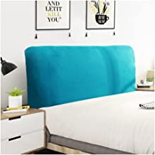 Bed Headboard Cover Stretch Single Double King Super King Dustproof Protector Cover for Bedroom Bed Headboard Dustproof Sc...