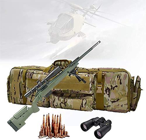 WSZYBAY Bolso Suave De Doble Rifle, Bolsa De Rifle De Servicio Pesado con Base Magic Magic Stick Fijo, Diagonal De Un Solo Hombro, Tejido Impermeable, Gran Capacidad para Almacenar