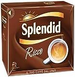 Splendid - Caffè Macinato Gusto Gran Aroma - Miscela per Macchina Caffè Moka - Bipack 2 x 250 gr - 8 Confezioni