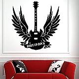 Vinilos de música usada y guitarra Vinilos decorativos musicales Bohemia