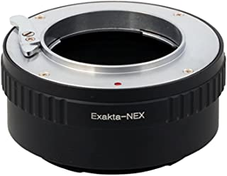 Pixco Lens Adapter Suit for Exakta Lens to Sony E Mount NEX A6500 A6300 A5100 A6000 A5000 A3000 NEX-5T NEX-3N NEX-6 NEX-5R NEX-F3 NEX-7 NEX-5N NEX-5C NEX-C3 NEX-3 NEX-5