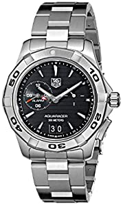 TAG Heuer Men's WAP111Z.BA0831 Aquaracer Black Dial Watch image
