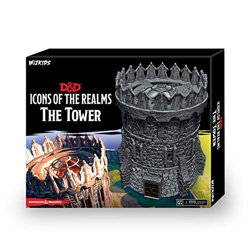 NECA D&D Icons of The Realms: The Tower Figure