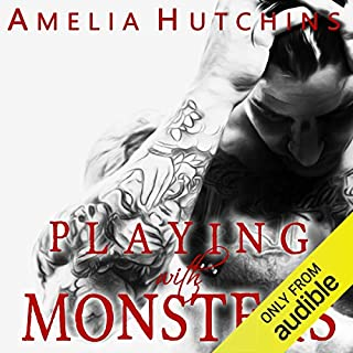 Playing with Monsters audiobook cover art