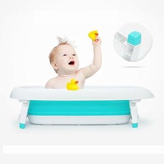 ベビーバス フォールディングバス 新生児用 お風呂 折り畳み式 バスネット シャンプーハット バストイ 温度計 バスボール セット