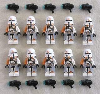 10 NEW LEGO AIRBORNE CLONE TROOPER MINIFIG LOT 212th Utapau 75036