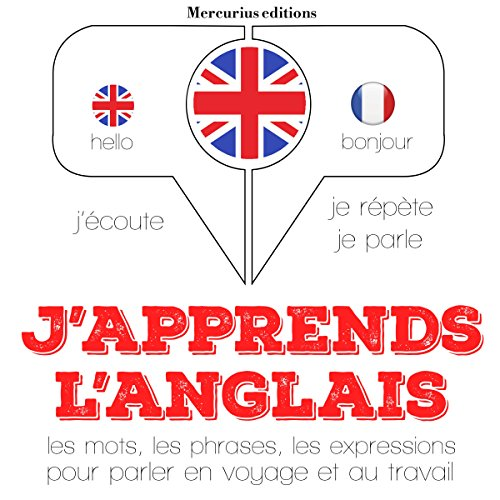 Couverture de J'apprends l'anglais