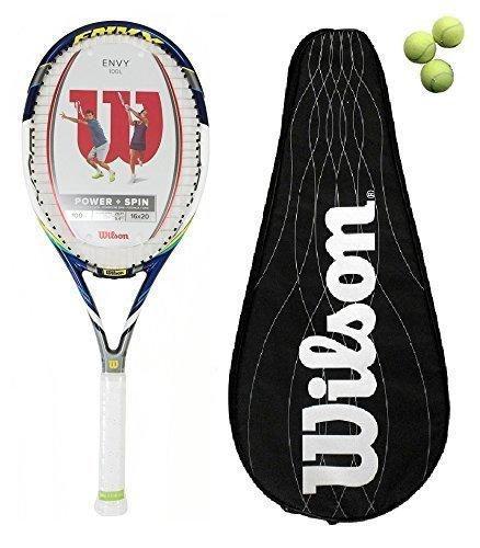 Wilson Envy 100L BLX raqueta + + 3 pelotas £180 cubierta B L2