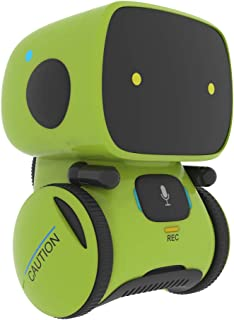 (Green) - Yingtesi Smart Robot Interaction Toys for Boys Girls Kids Age . Old,Voice Command,Touch Control,Music and Sound ...